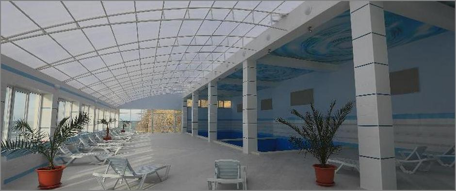 санаторий Малая бухта бассейн