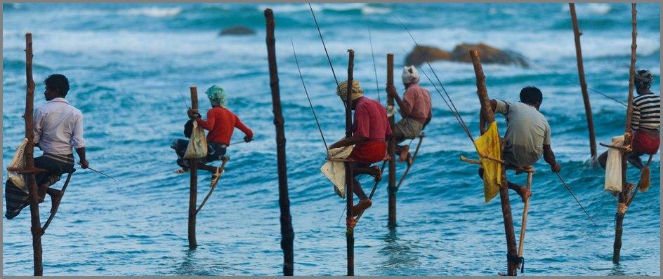 рыбаки Шри Ланка 4