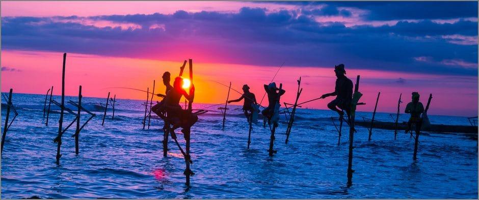 рыбаки Шри Ланка 6