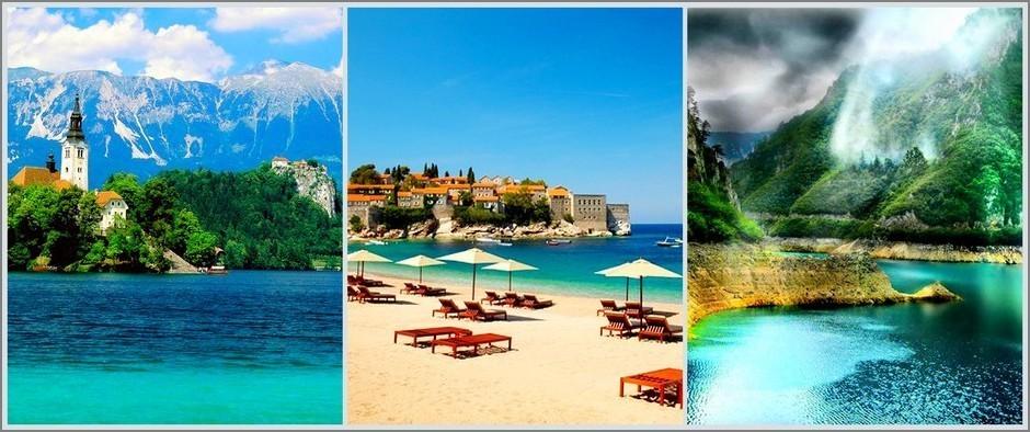 Туры на курорты Черногории