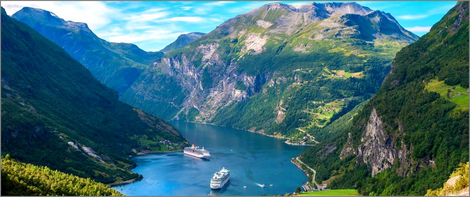 Круизы по Фьордам Норвегии