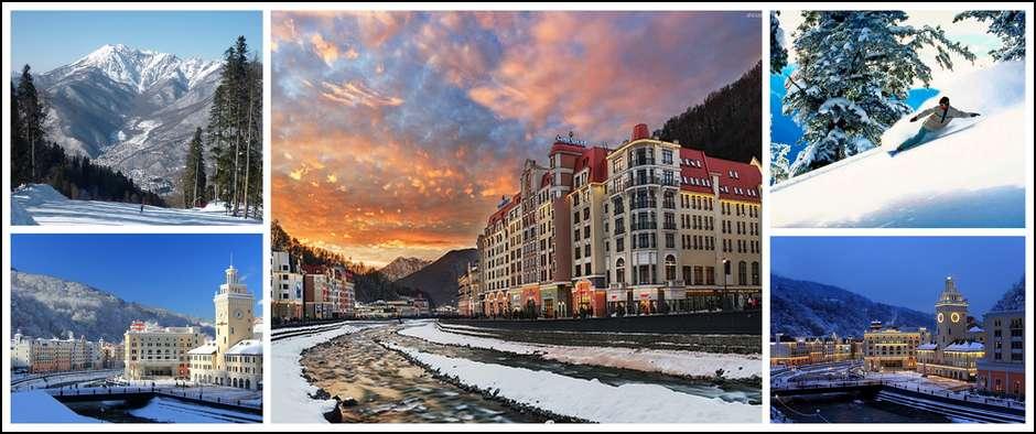 Встречаем зиму на Красной поляне! Цены от 1950 рублей.