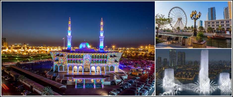 Шарджа культурная столица ОАЭ! Стоимость от 16000 рублей.