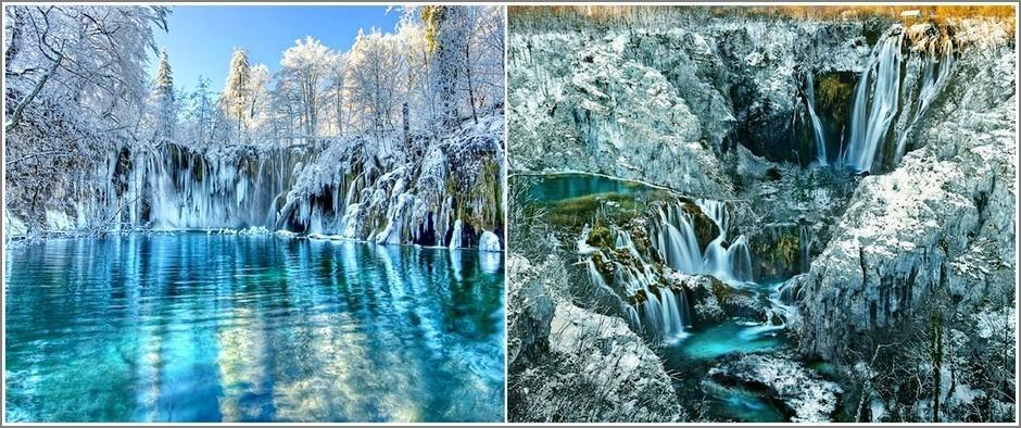 Одно из самых красивых мест на планете - Плитвицкие Озёра, Хорватия