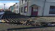 В Рейкьявике, Исландия, строят тротуар с подогревом для того, чтобы зимой дождь или снег не превращался в гололед!