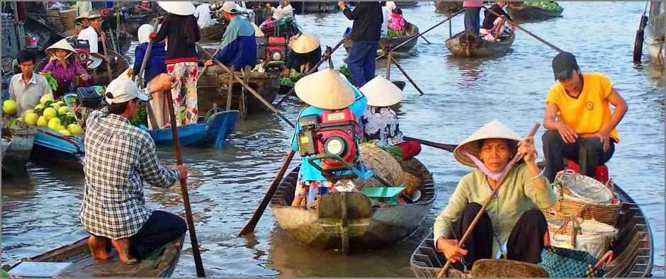 Вьетнам лодки
