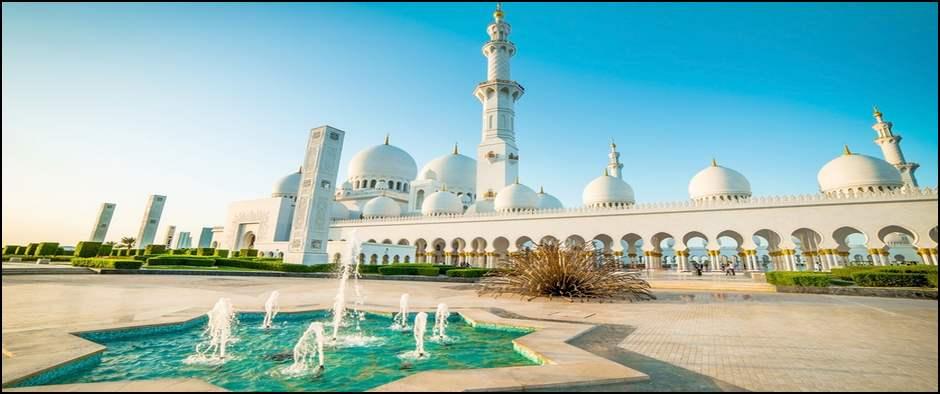 Белая мечеть Шейха Зайеда