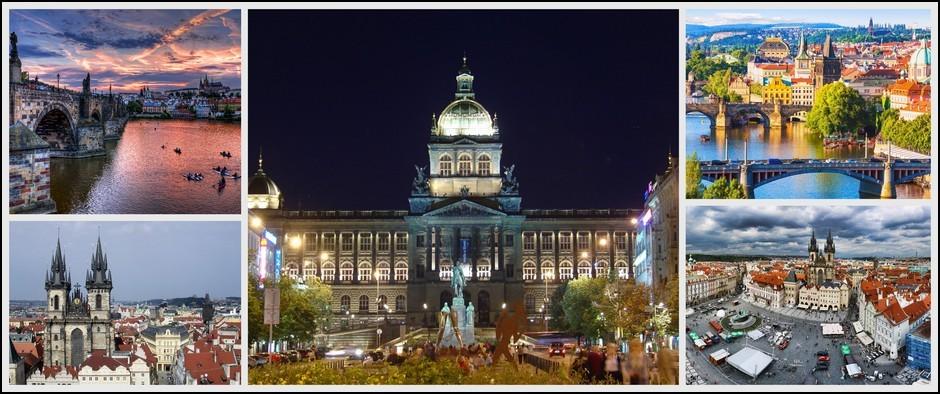 Золотая Злата Прага! Стоимость от 16000 рублей с перелетом.