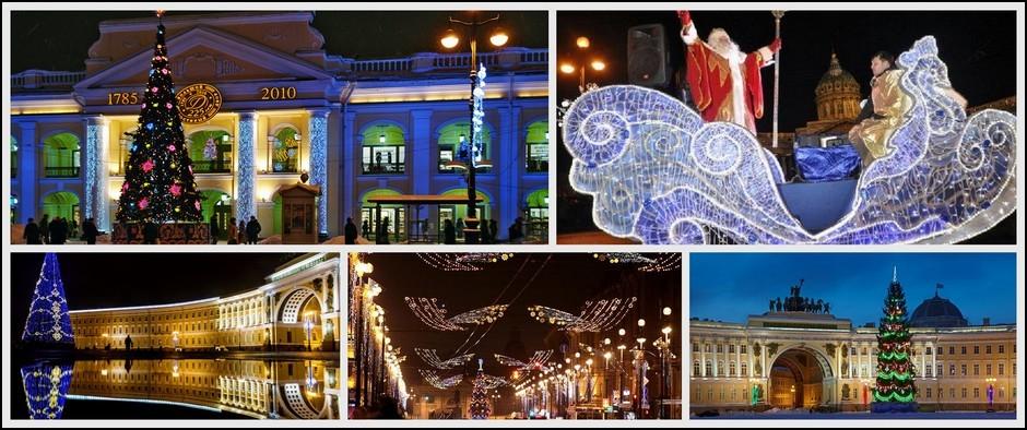 Не упустите шанс встретить Новый год в Санкт-Петербурге!