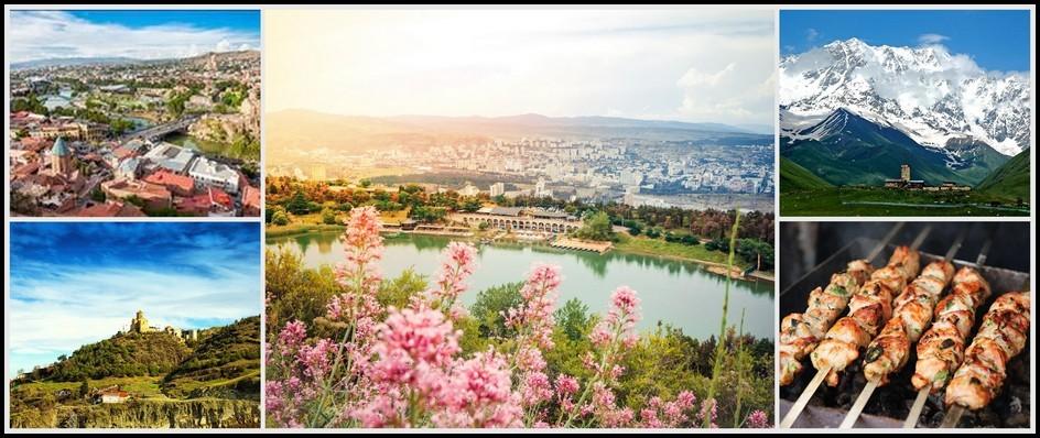 Грузия прекрасна круглый год! Лето 2018, 8 дней от 23300 рублей.