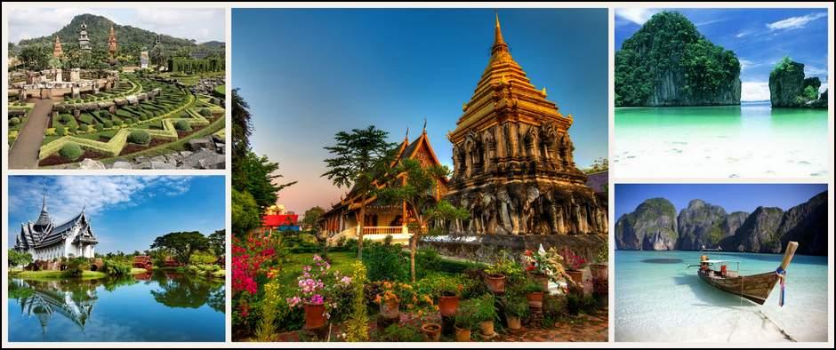 Таиланд- самая экзотическая страна Азии! 12 ночей от 16400 рублей.