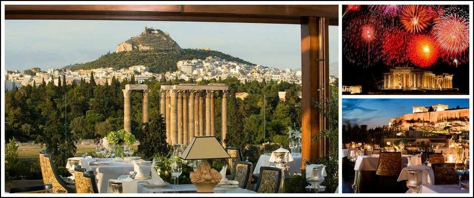 Встреча Нового года в Афинах: волшебство и романтика Греции.