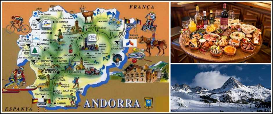 Волшебные цены в Андорру и подарки туристам! Цены от 23500.