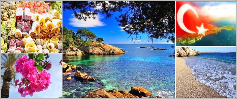 Для любителей моря - Турция. Отдых 15 дней от 28700.