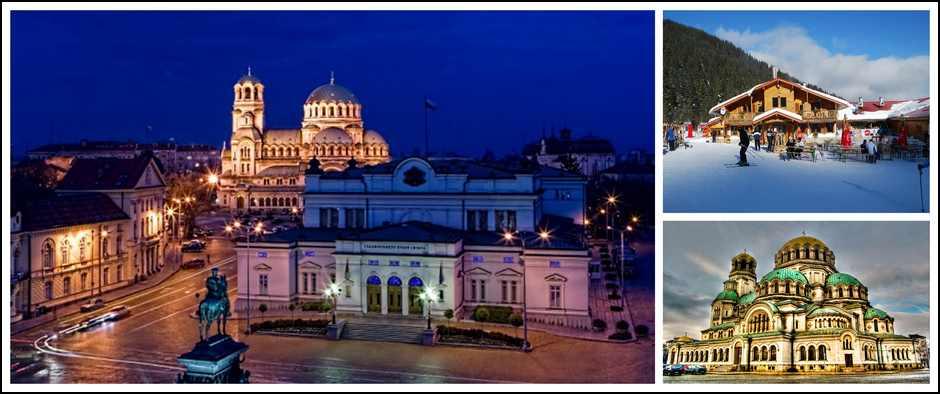 София - яркая точка на карте путешествий! Горнолыжные туры от 22700.