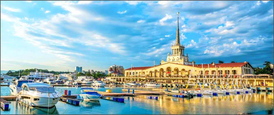 Отдых в роскошном отеле Сочи: пакетный тур с перелётом за 20 600 рублей!