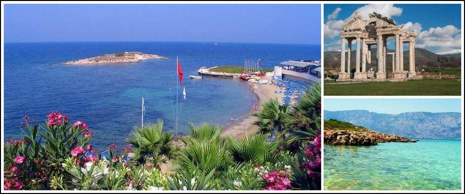 Совсем другая Турция. Эгейское побережье от 13700 рублей.