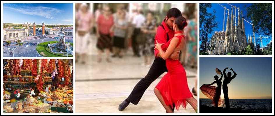 Страна фламенко и паэльи – Испания. 8 дней от 24400 рублей.