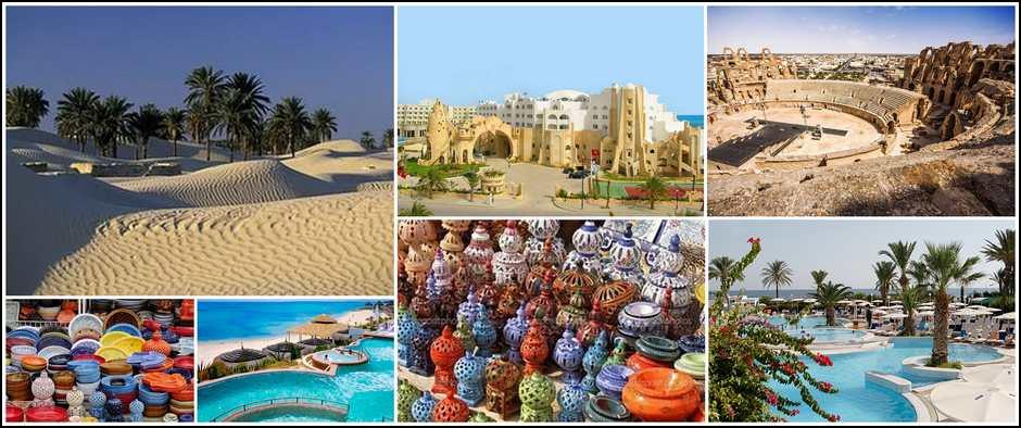Пляж, серфинг, Сахара-все это Тунис! Вылет 29 мая -11 дней от 30000.