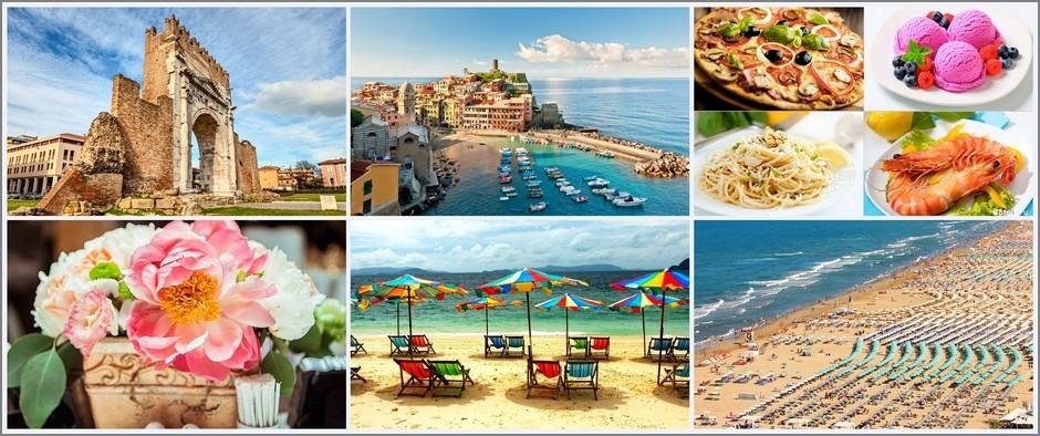 Морской бриз и ласковое солнце: всё это Римини! Туры в Италию от 17 100 рублей!