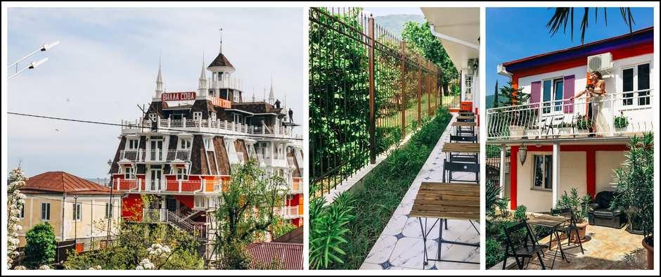 Современный отель в Абхазии. Villa Sova от 22000 с перелетом.