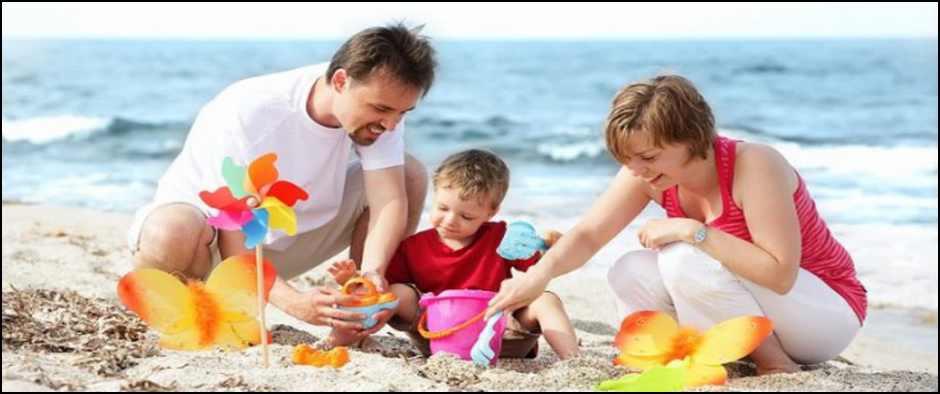 7 важных советов, как пережить отпуск с малышом.