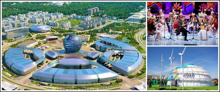 «Астана EXPO-2017» в отеле 3* (3 дн./2 н.)