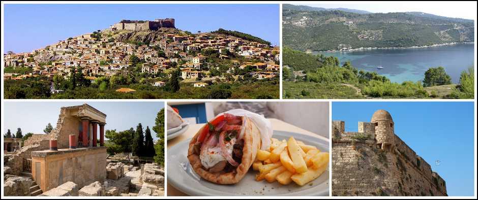 Великолепная Греция, туры на 10 дней, все включено от 28400 рублей.