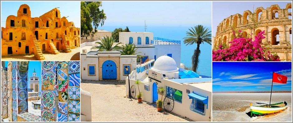 Летим в Африку! Тунис и Марокко от 35700 рублей.