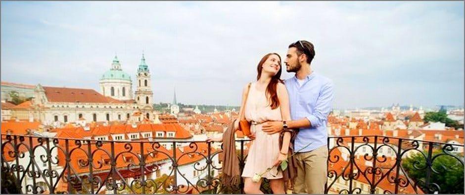 Романтическая неделя в Европе: авиатуры в Прагу от 10 800 рублей!