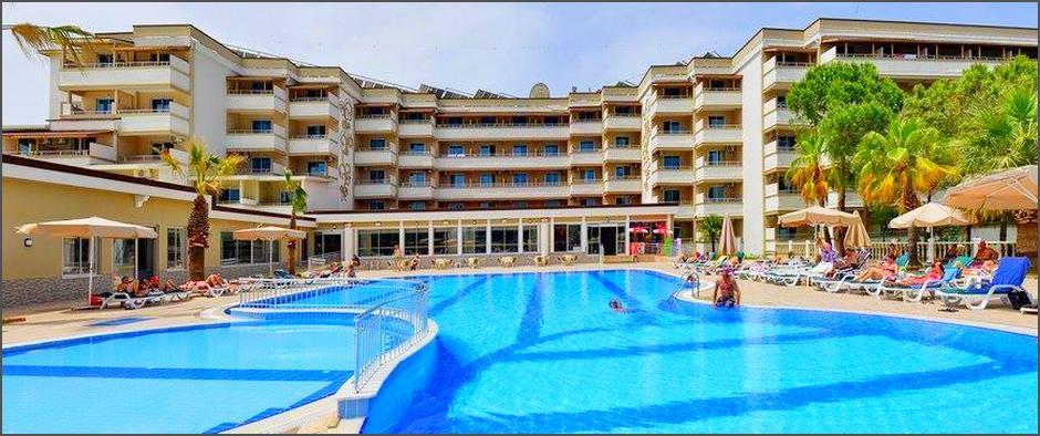 урция: пятизвёздочный отель с великолепным сервисом и питанием за 24 500 рублей за неделю!