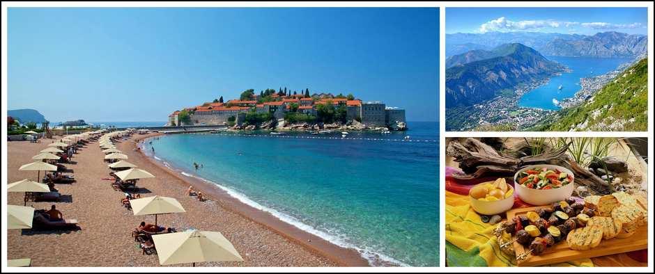 Черногория- лазурное, кристально чистое море! 8 дней от 23300.