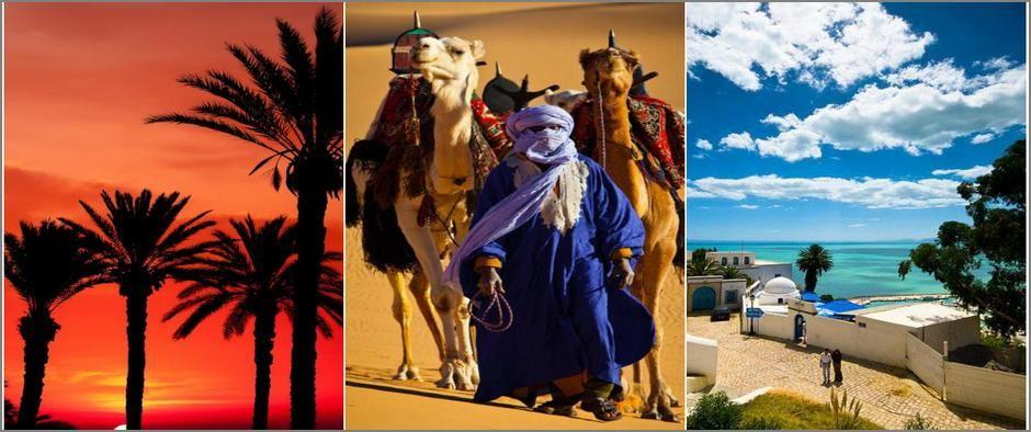 Жаркая Африка - Тунис и Марокко! 8 дней от 34900 рублей.