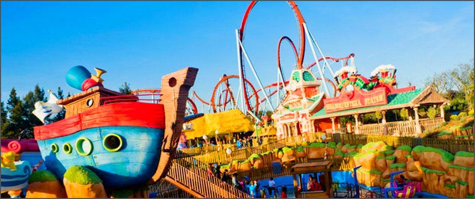 И снова лидер! Испанский парк развлечений «Portaventura» назван лучшим Европейским парком развлечений 2017 года!