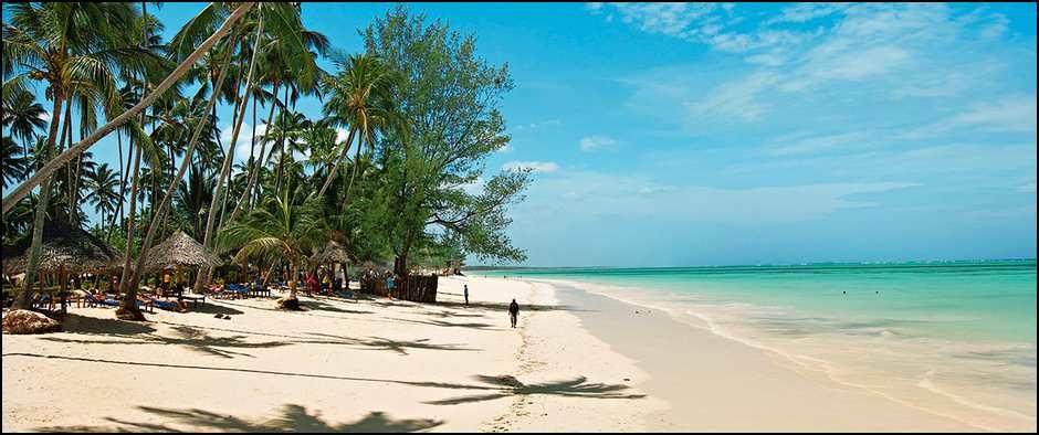 Чистые и песчаные пляжи Занзибара. 11 ночей от 44900 рублей.