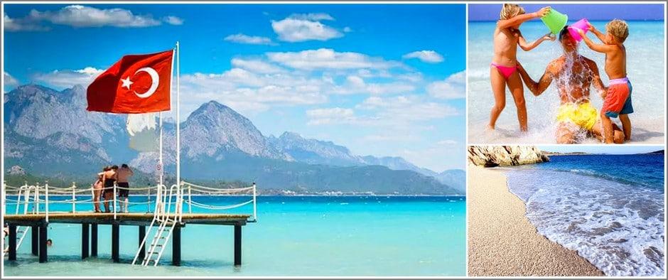 Горящие туры в шикарные отели 5* Турции! Цены от 24 700 рублей!