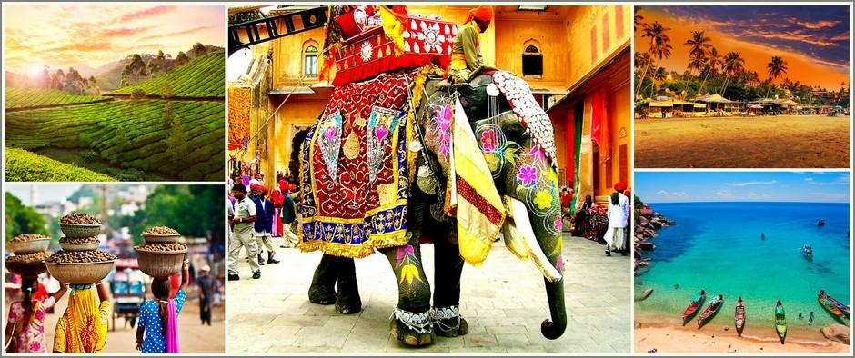Колоритная Индия: туры на 9 дней от 21000 рублей.