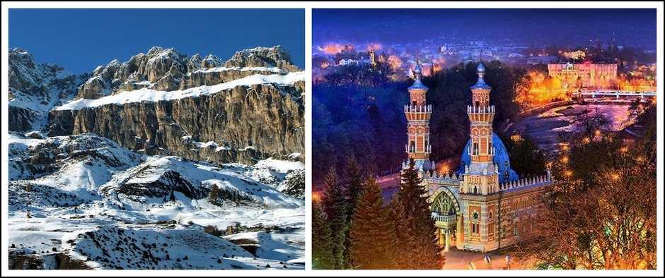Экскурсионный тур на кавказ в январе