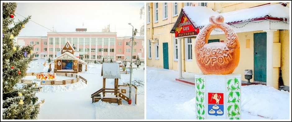 Новогоднее кольцо (Муром-Владимир-Суздаль, 2 дня, автобус)