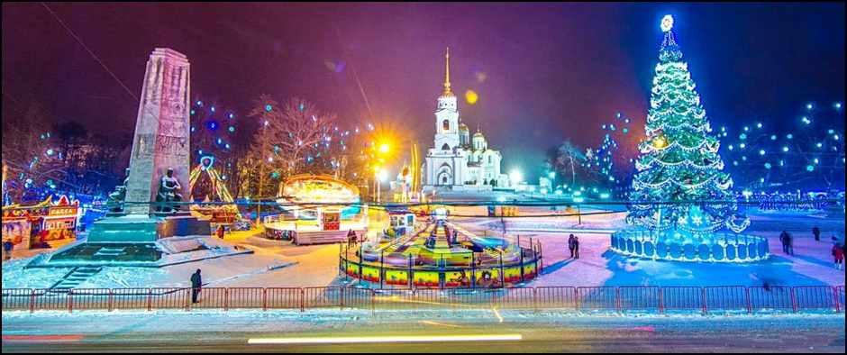 Автобусный тур из Кирова по Золотому кольцу, 3 дня/4 ночи.