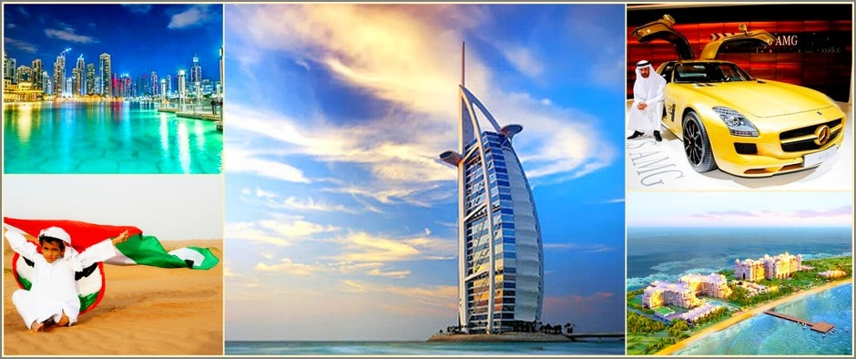 Сказочные Эмираты! Горящие туры в ОАЭ 8 дней от 22900 рублей.