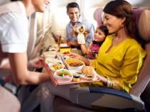 Любите летать? Тогда к Вашему вниманию Топ 10 авиакомпаний с лучшим питанием на борту
