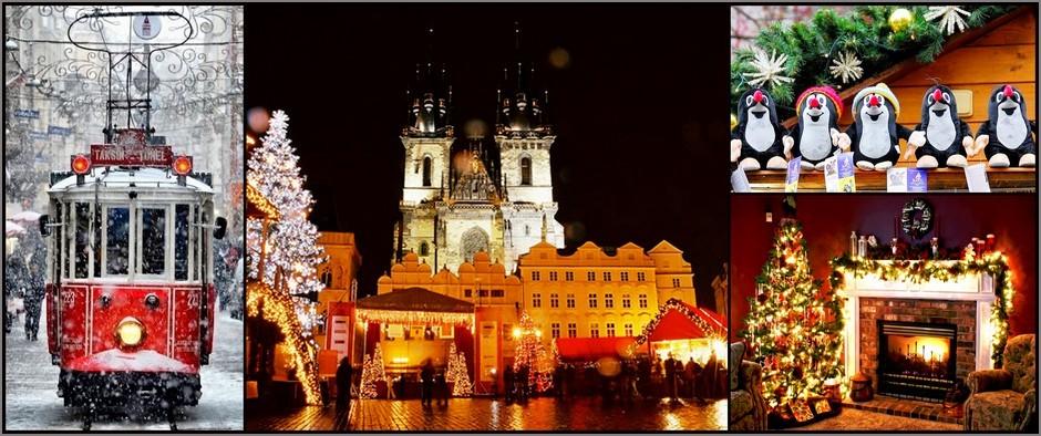 Рождественская Европа: туры в красивейший город Прага от 12 900 рублей!