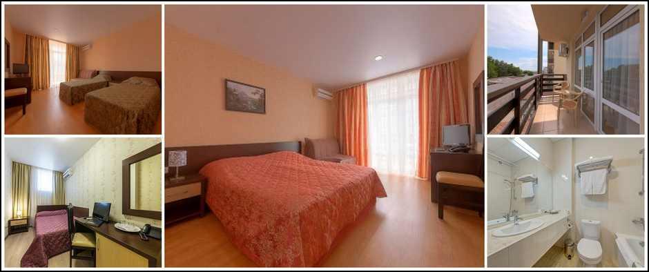 Отель «Гранд Прибой» г. Анапа. Цены от 1567 рублей.