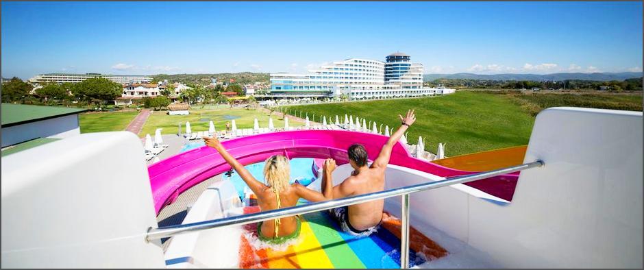 Шикарный 5-ти звёздочный турецкий отель по системе «Ультра Всё Включено» за 23 400 рублей!