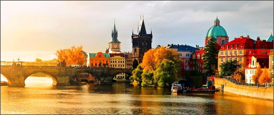 Удивительный и романтичный город Прага ждёт Вас! 8 дней от 25500.