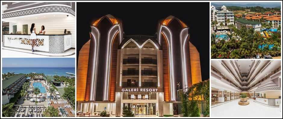 Пятизвездочныйотель Galeri. Отличное решения для Вас от 17300 рублей.
