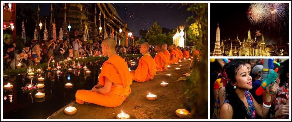 ТайскийНовый год - Сонгкран. 11 ночей от 35100 рублей.