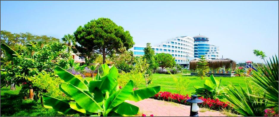 Роскошный отель турецкий Raymar Resort Side 5* по системе «Ультра Всё Включено» за 23 400 рублей!