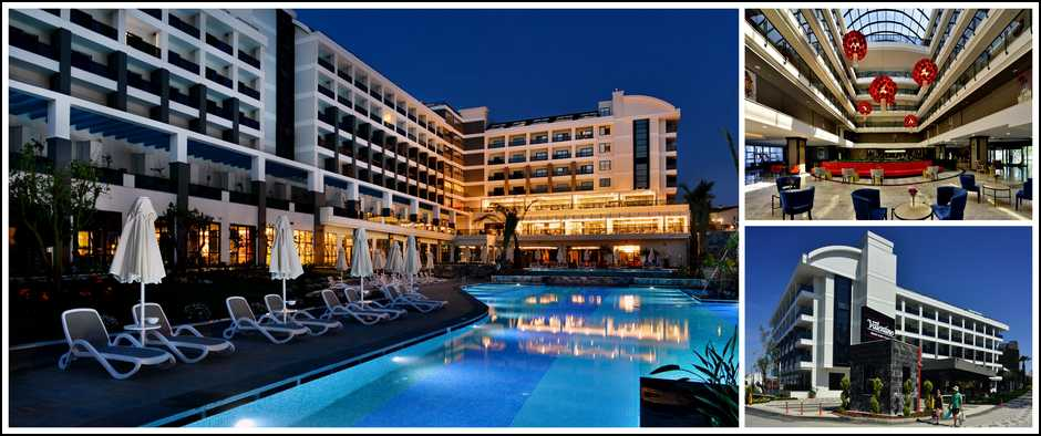 Новый турецкий отель Side Valentine Resort & Spa 5*. Цены от 23300 рублей.
